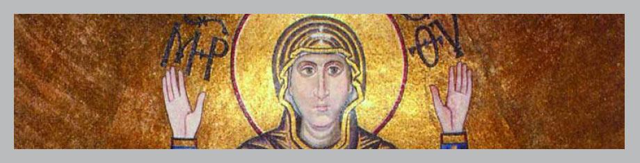Мозаичная картина «Богоматерь Оранта»