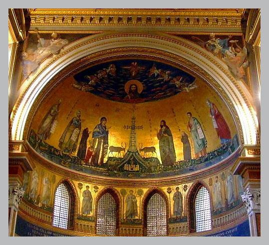мозаики латеранской базилики