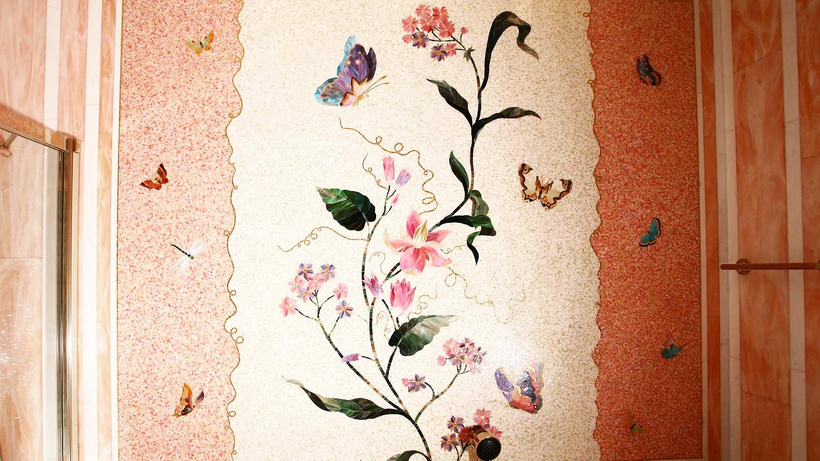 Картины из обоев на стенах своими руками
