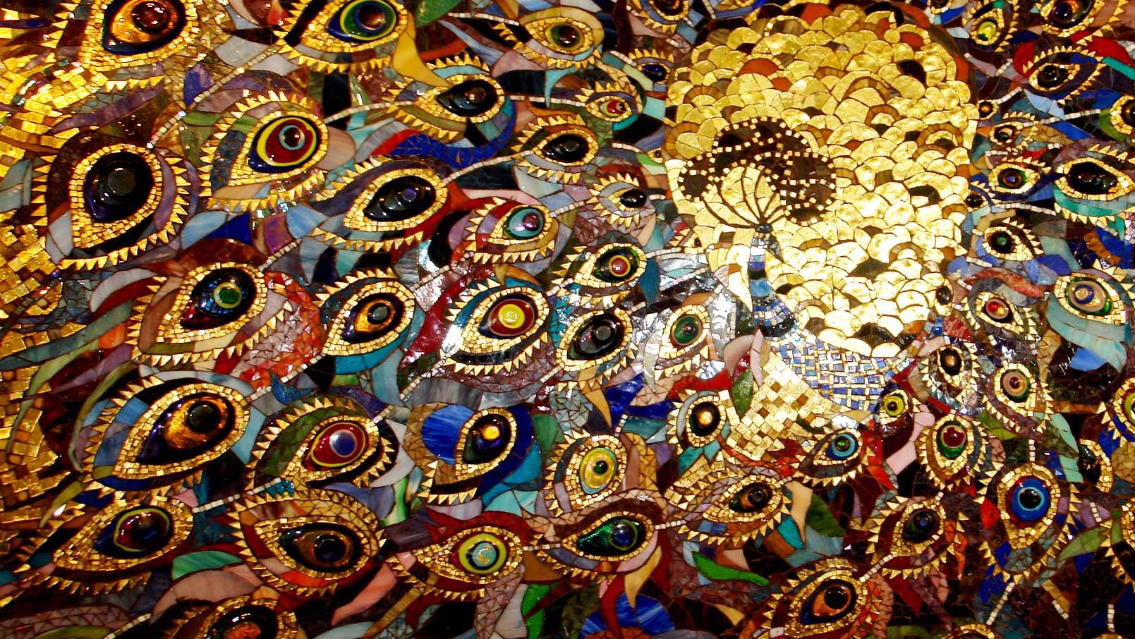 Панно из мозаики схемы
