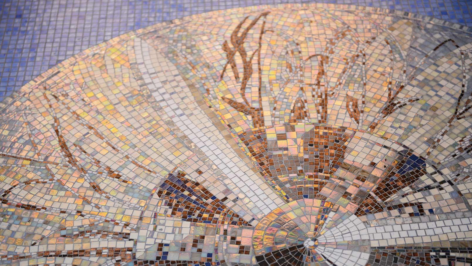 Схема мозаичного панно
