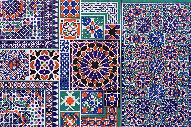 геометрический орнамент в