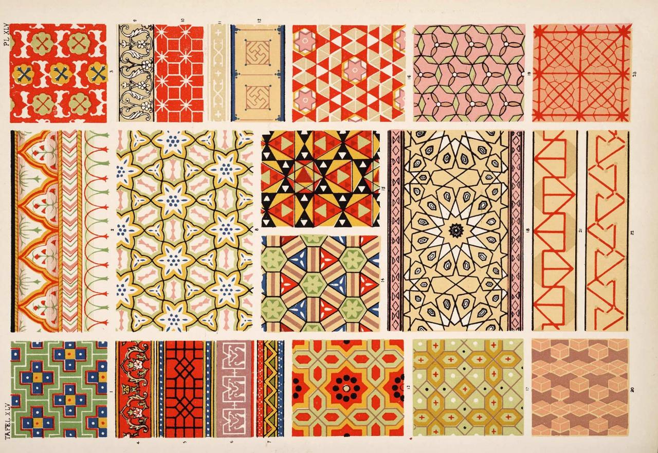 Русские узоры геометрические